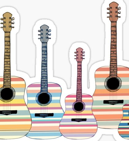 Indie Guitars Sticker