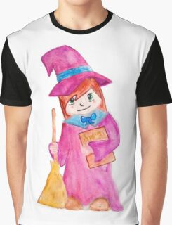 Little Witch Graphic T-Shirt