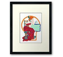 Celtic Flame Framed Print