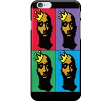 HIP-HOP ICONS: TUPAC SHAKUR (4-COLOR) iPhone Case/Skin