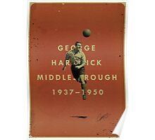 George Hardwick - Boro Poster