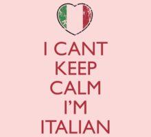 I Can't Keep Calm I'm Italian by pinballmap13
