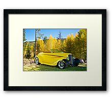 Rocky Mountain Roadster Framed Print