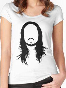 Steve Aoki Women's Fitted Scoop T-Shirt