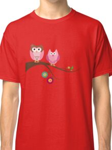 Couple owls Classic T-Shirt