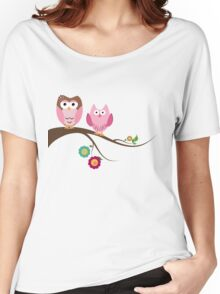 Couple owls Women's Relaxed Fit T-Shirt