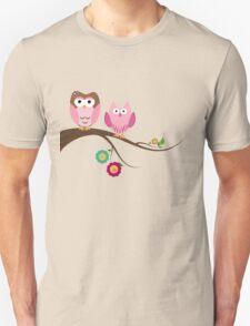 Couple owls Unisex T-Shirt