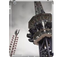 The Tower from a Free Fall Ride at a Carnival iPad Case/Skin