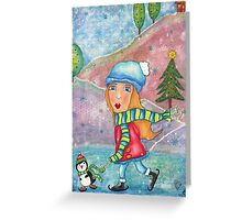 Whimsical Christmas Greeting Card