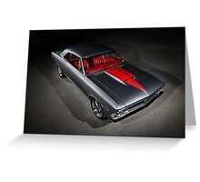 1966 Chevrolet Chevelle SS Greeting Card