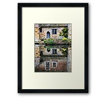 A Place To Reflect Framed Print