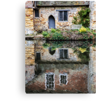 A Place To Reflect Canvas Print