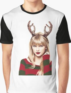 Merry Christmas Taylor Swift Graphic T-Shirt