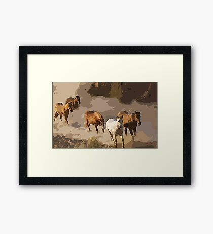 59 art Framed Print