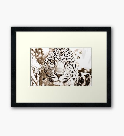 76 art Framed Print
