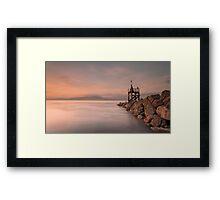 West Beach, Silloth Framed Print