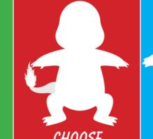 I Choose You: All Sticker