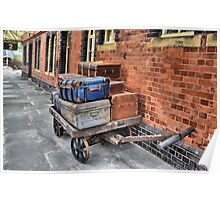 Luggage Trolley  [  reworked ] Poster