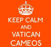 Keep Calm and Vatican Cameos Kids Tee
