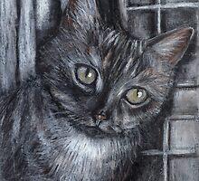 Window cat by Ida Jokela