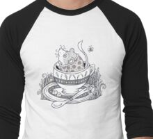 The Dormouse Awakes Men's Baseball ¾ T-Shirt