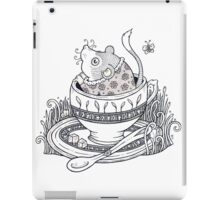 The Dormouse Awakes iPad Case/Skin