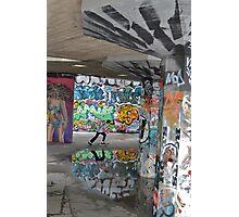 Graffiti Skater Photographic Print