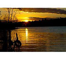 River Murray Sun Set Photographic Print