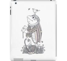 The Frog Footman iPad Case/Skin