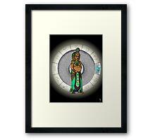 Leo Goddess Framed Print