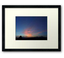 ©HCS Sky Zen II Framed Print