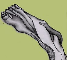 My Foot. by Angelina Elander