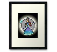 Pisces Goddess Framed Print