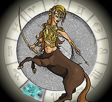 Sagittarius Goddess by Jack Knight