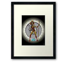 Scorpio Goddess Framed Print