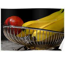 fruit in a cage Poster