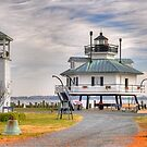 The Hooper Strait Lighthouse  by Monte Morton