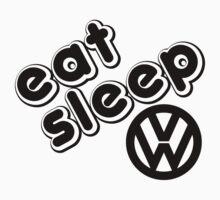 eat, sleep, vw by lauart