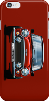 Mini Cooper iPhone 4 Case by davidkyte