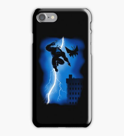 The Blue Mite Returns iPhone Case/Skin