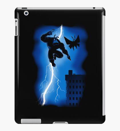 The Blue Mite Returns iPad Case/Skin