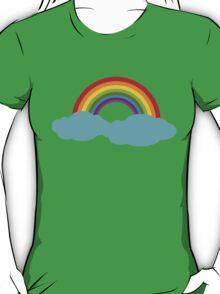 Rainbow with cloud T-Shirt