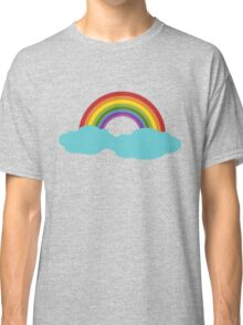 Rainbow with cloud Classic T-Shirt