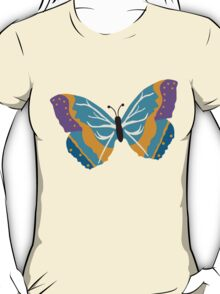 Vector illustration of beautiful butterfly T-Shirt