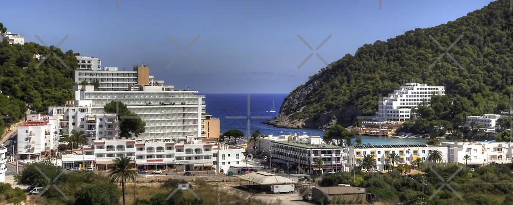 Cala Llonga Village and Bay by Tom Gomez