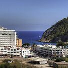 Cala Llonga Village and Bay by Tom Gomez