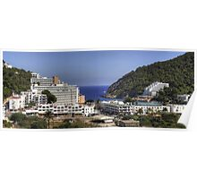 Cala Llonga Village and Bay Poster