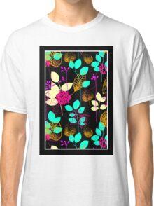 Foliage Orange & Aqua [iPhone / iPod Case and Print] Classic T-Shirt