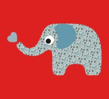 Elephant Seamless background Kids Clothes
