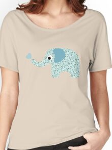 Elephant Seamless background Women's Relaxed Fit T-Shirt